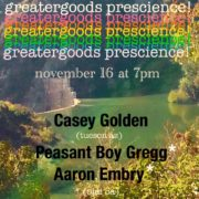 Aaron Embry, Peasant boy Gregg, Casey Golden