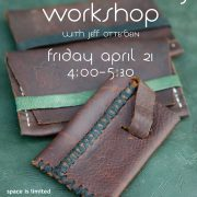 wallet making workshop