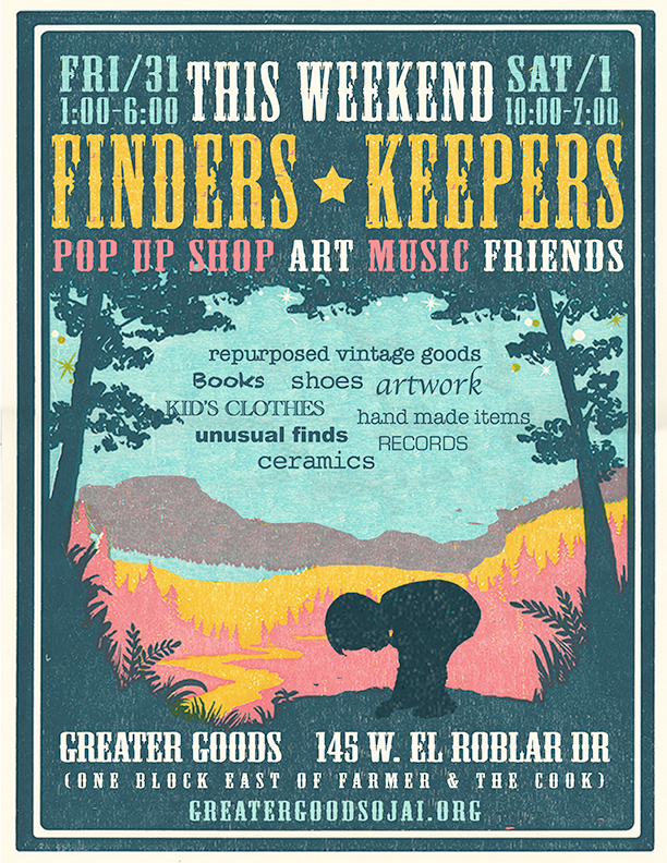 Finders Keepers, Pop Up Shop